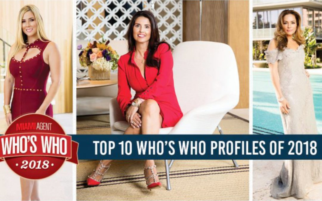 Top 10 Who´s Who profiles of 2018
